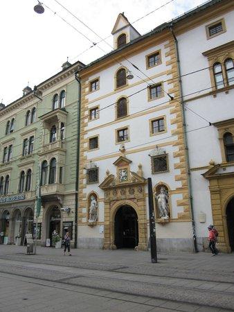 Landeszeughaus: Eingang Zeughaus