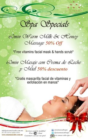 Seven Zenses Cabo Spa: spa special 50 % off
