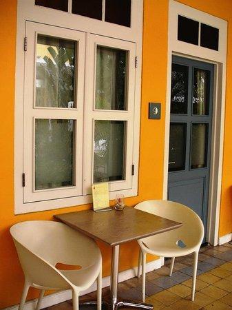 Boutique Hotel 't Klooster: Entrada a la habitacion