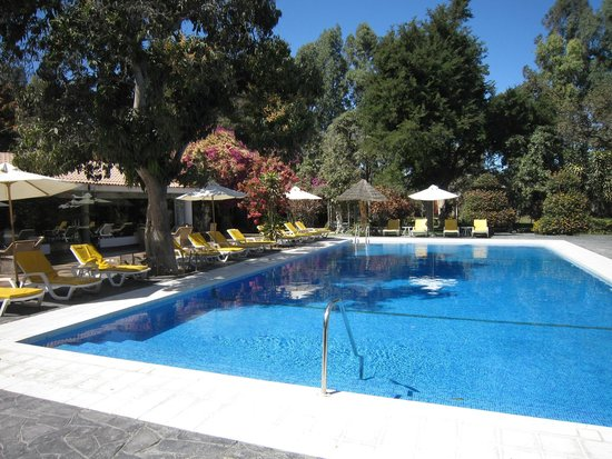 Hotel Majoro: Lovely swimming pool in the middle of the whole compound