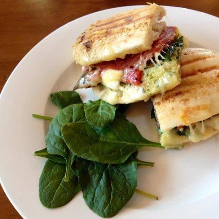 Cafe 109: Focaccia and salami