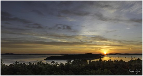 Bluenose Inn - A Bar Harbor Hotel: Sunrise in Bar Harbor