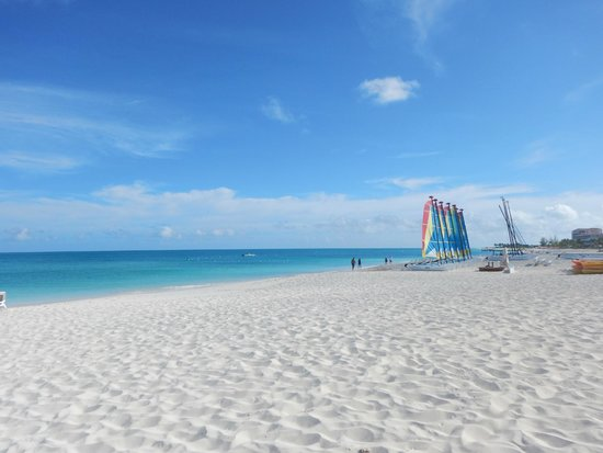 Club Med Turkoise, Turks & Caicos : beach and sailing