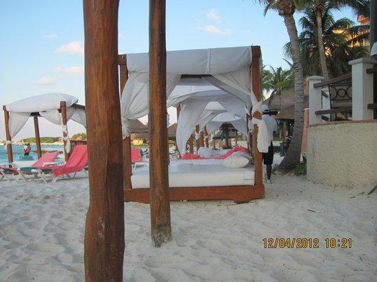 Grand Fiesta Americana Coral Beach Cancun: en la olaya tenemos todas las comodidades