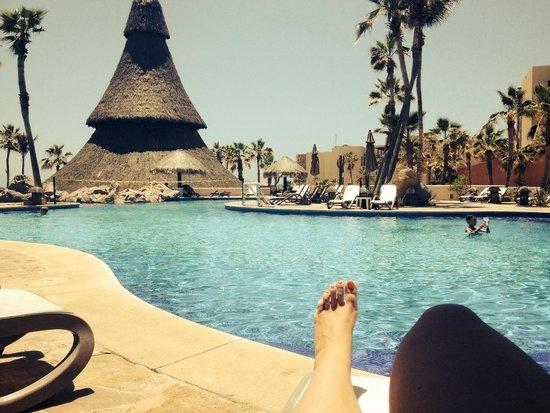 Sandos Finisterra Los Cabos : Enjoying the pool