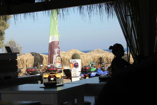 Jo Jo's Beach Bar : vista