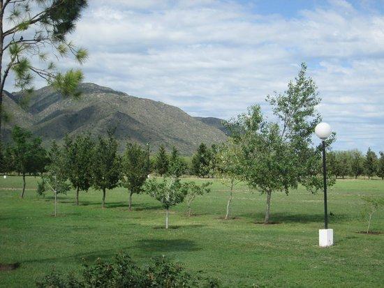 Hotel Lujan: vista desde el parque