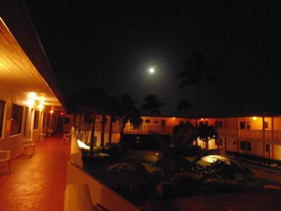 Travelodge Monaco N Miami and Sunny Isles Beach : Vista do piso superior