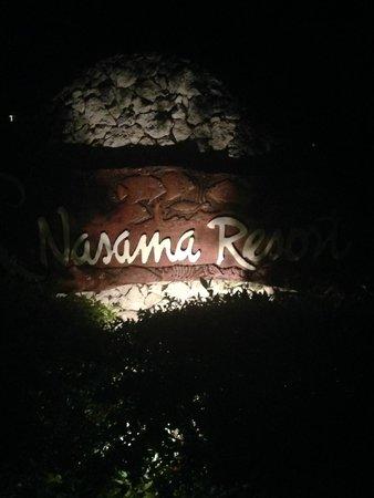 Nasama Resort: Hotel Entrance