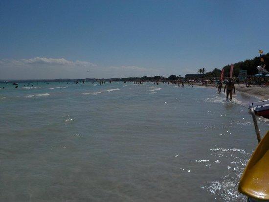 Beach view - Picture of Playa de Alcudia, Port dAlcudia - TripAdvisor