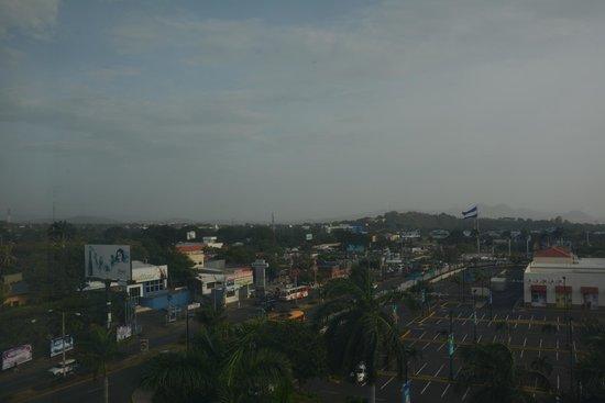 InterContinental Real Managua at Metrocentro Mall: Vista desde la habitación 5to piso