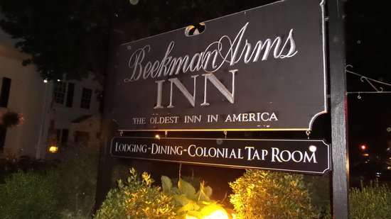 The Tavern at the Beekman Arms : A delightful dining experience