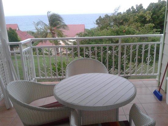 Pierre & Vacances Village Club Sainte-Anne: balcon