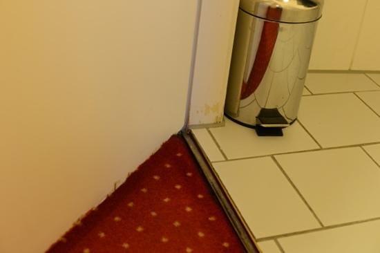 relexa hotel Bellevue: двери в ванную