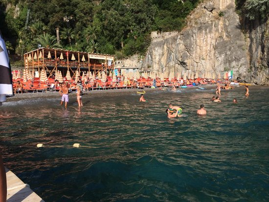 view from the jetty - Picture of Bagni d\'Arienzo, Positano - TripAdvisor