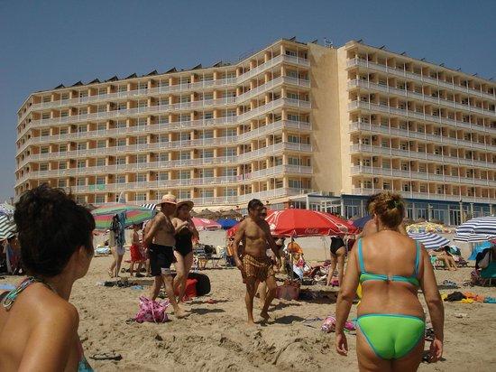Hotel Entremares: vistas hotel desde el mar