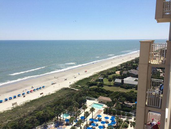Myrtle Beach Marriott Resort & Spa at Grande Dunes: View from 1405