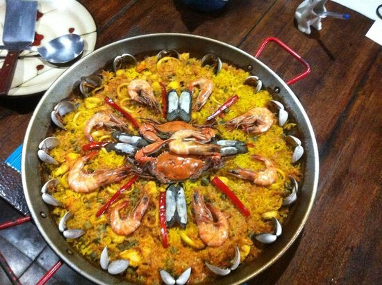 Kelly Creek Hotel-Restaurante: Paella...as deliscious as the presentation!
