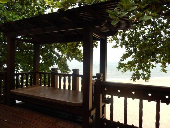 Tanjong Jara Resort: The balcony