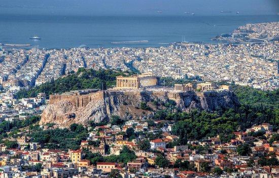 Fantasy Travel: Athens from Lycabetus