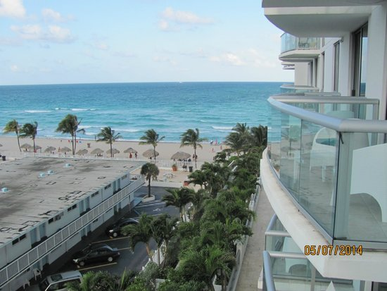 Marenas Beach Resort: vista desde los balcones