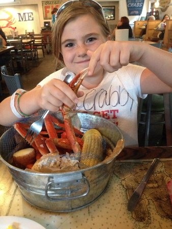 Joe's Crab Shack: Snow crab legs!