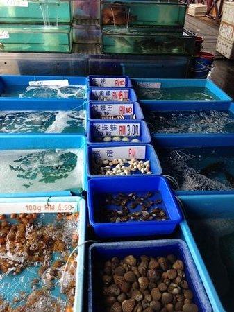 Restoran Todak (Orang Asli): fresh seafood