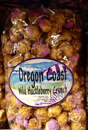 Yachats, OR: Huckleberry treats