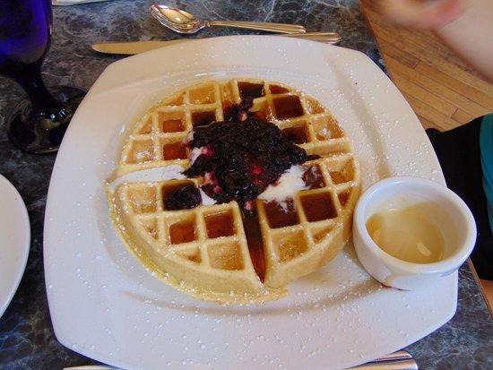 Hamiltons' at First & Main : Cornmeal Waffle