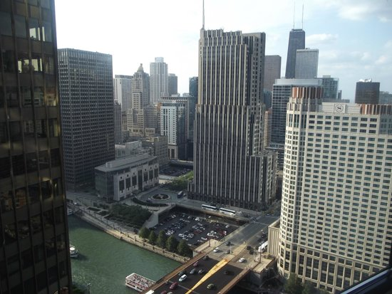 Swissotel Chicago: View from the 34th floor