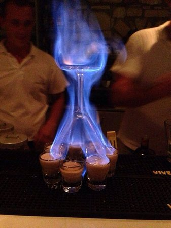 Saint Andrea Seaside Resort: Flaming Lamborghini