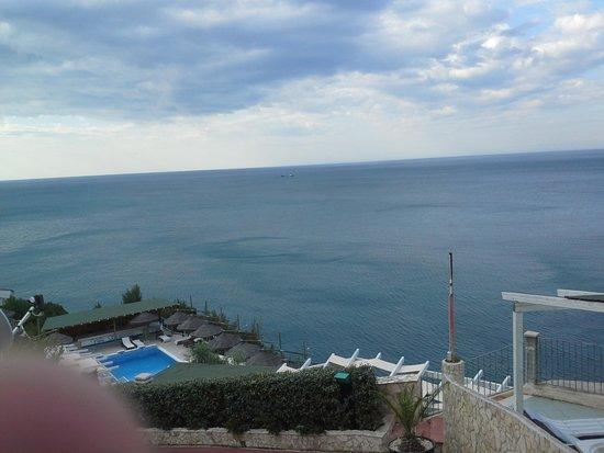 Hotel Villa Scapone: panorama stupendo