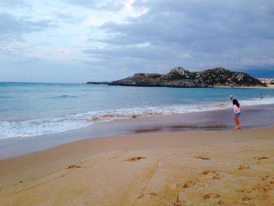 Camping Playa Joyel: La spiaggia di sera
