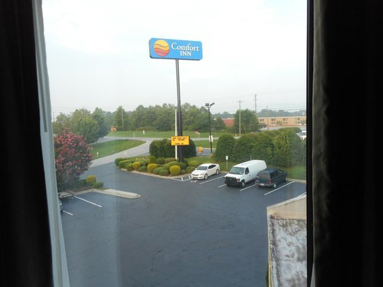 Comfort Inn Asheville Airport: View from the Room