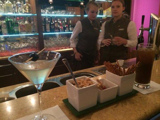 Sheraton Zurich Neues Schloss Hotel: lobby bar