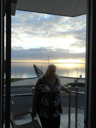 Ceduna Foreshore Hotel Motel : The view from our balcony.