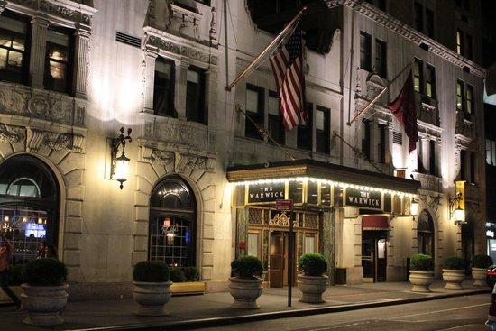 Warwick New York : gorgeous hotel