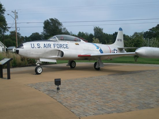 Aviation Heritage Park: Lockheed T-33-A Shooting Star