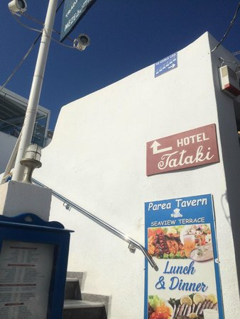 Tataki Hotel : 入口の看板