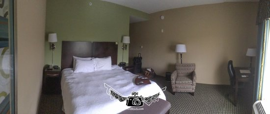 Hampton Inn Dandridge: room
