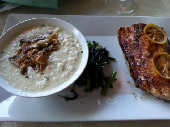 REEF: Crispy Skin Snapper and Cauliflower Grits