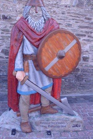 The Viking Triangle: Viking warrior photo op
