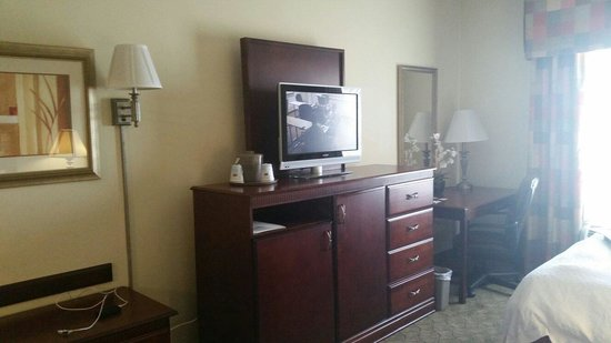 Hampton Inn Lubbock, room 417, August 27th, 2014