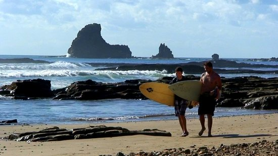 Casa Maderas Ecolodge: Maderas Beach, a world-renowned surf break