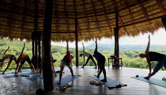Casa Maderas Ecolodge: Our Yoga Studio