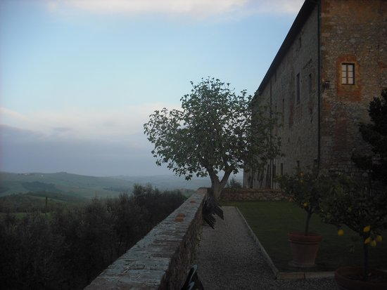 Agriturismo Sant'Anna in Camprena: Sunset