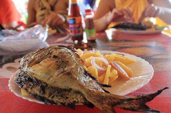 Bongoyo Island: Yummy ! fresh fish