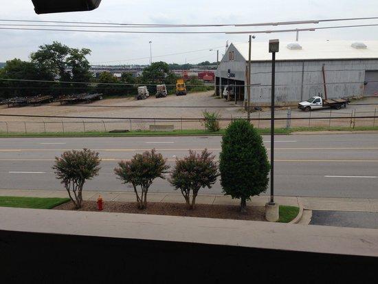 Red Roof Inn Nashville Fairgrounds: View From Room 316.