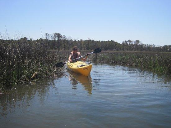 Snug Harbor Marina Boat Rentals: Pre-season Kayak in May