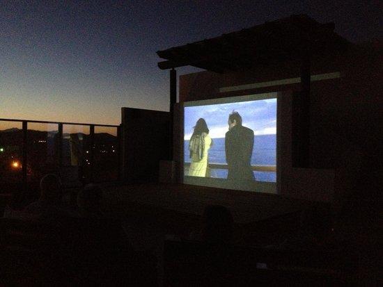 Hotel El Ganzo : Movie Nights on the Roof!